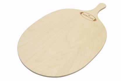 Flammkuchen-Servierbrett oval 40 x 30 cm