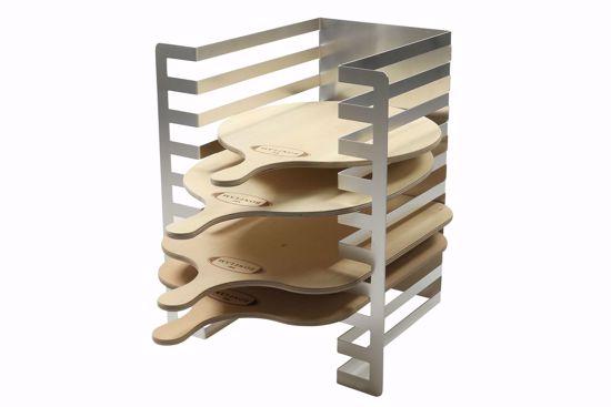 Flammkuchen-Regal, Aluminium